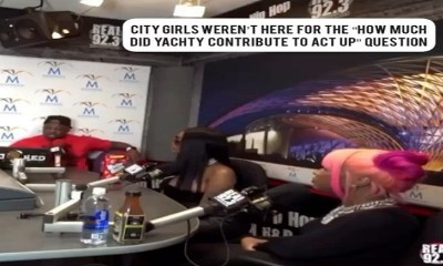 City Girls refuse to answer question about Lil Yachty contributing to Act Up