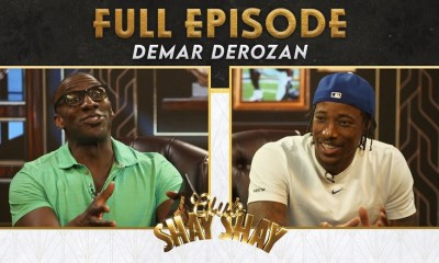 DeMar DeRozan free agency interview with Shannon Sharpe