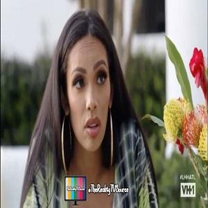 Erica Mena tells Safaree that she is pregnant LHHATL