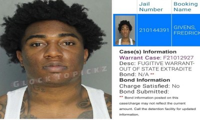 Fredo Bang arrested by FBI in Miami