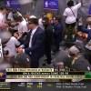 Milwaukee Bucks locker room celebration