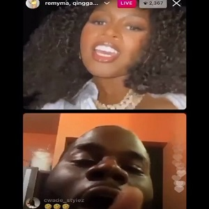 Remy Ma adds trash talking Nicki Minaj fan to her IG Live so he can talk trash to her face