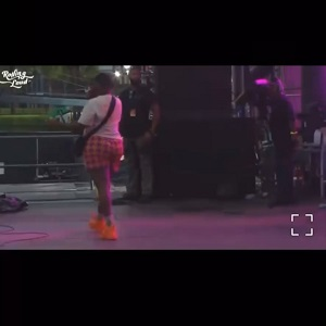 Saucy Santana claims his IG was disabled and thanks JT City Girls for letting him open up for them at Rolling Loud