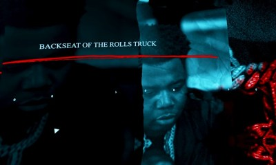 BIG30 Backseat of the Rolls Truck music video