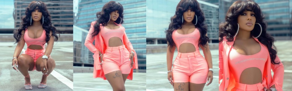K. Michelle looks completely unrecognizable like a Barbie Doll in new pics