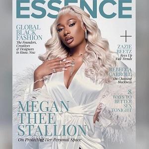Megan Thee Stallion covers Essence magazine September-October 2021