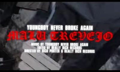 NBA Youngboy Malu Trevejo music video