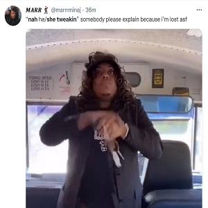 Nah he tweakin nah she tweakin comments take over Instagram