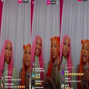 Nicki Minaj celebrates Bia collaboration Whole Lotta Money reaching top five on Urban Radio without a music video