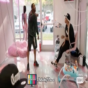 Scrappy and Bambi fight on Love & Hip Hop Atlanta