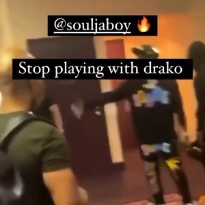 Soulja Boy threatens to shoot a person who dissed his artist