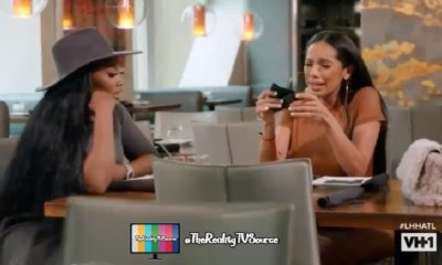 Erica Mena cries telling Yandy about her and Safaree divorcing, but LHHATL fans don't feel sorry for her