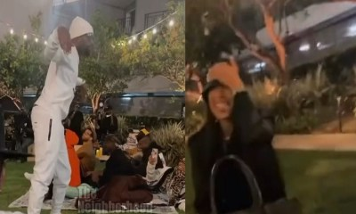Safaree pop locks for Erica Mena, as he is trying to win her back