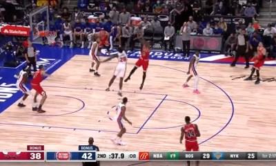 Chicago Bulls at Detroit Pistons opening night 2021