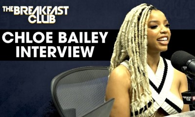 Chloe Bailey talks confidence, growth, new music, and more on The Breakfast Club