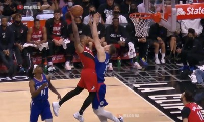 Damian Lillard tried to POSTER the living hell out of Isaiah Hartenstein