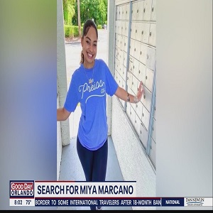Miya Marcano's body is believed to have been found in wooded area by Orange County sheriff, a week after she disappeared