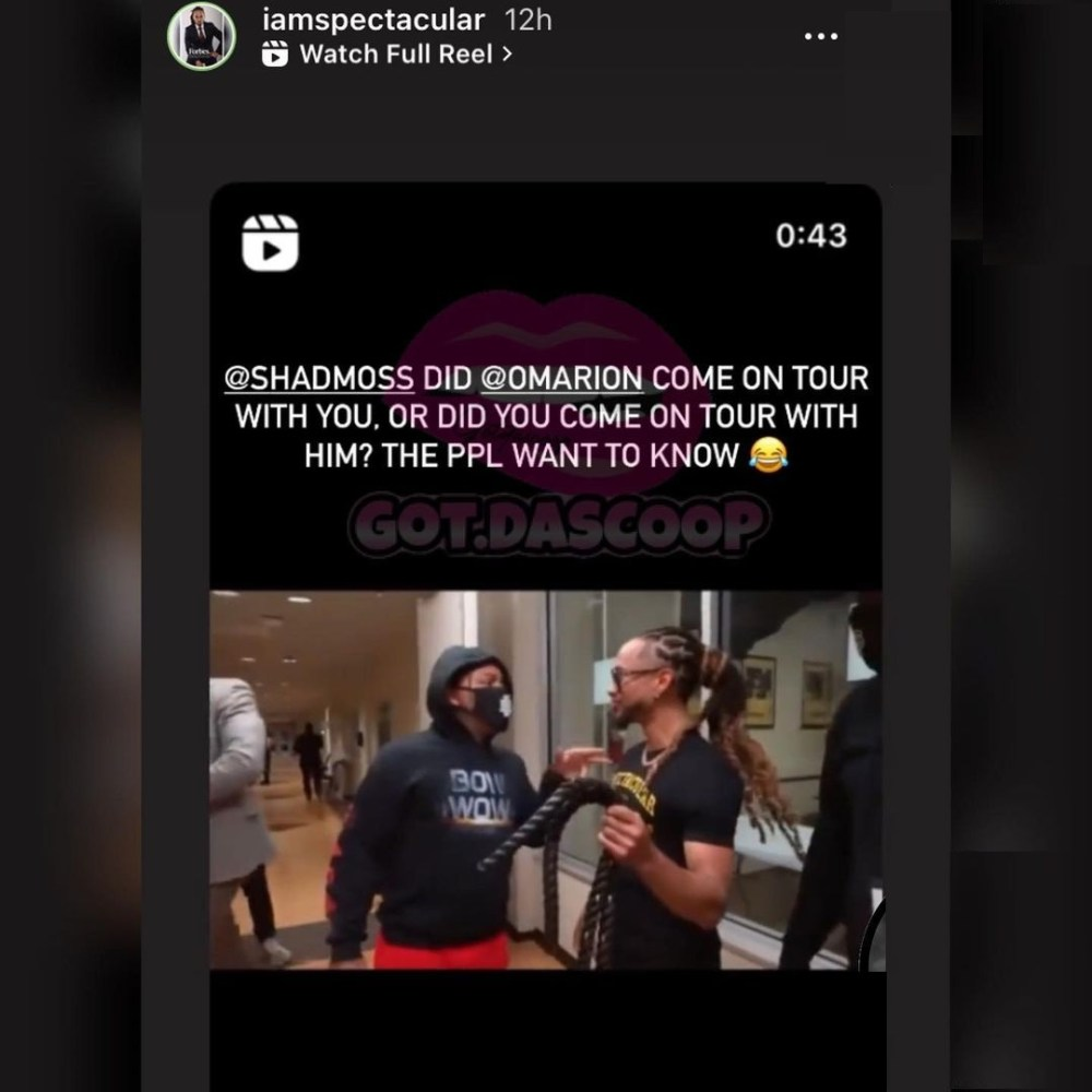 Spectacular asks Bow Wow if he joined Omarion's tour or if Omarion joined his tour