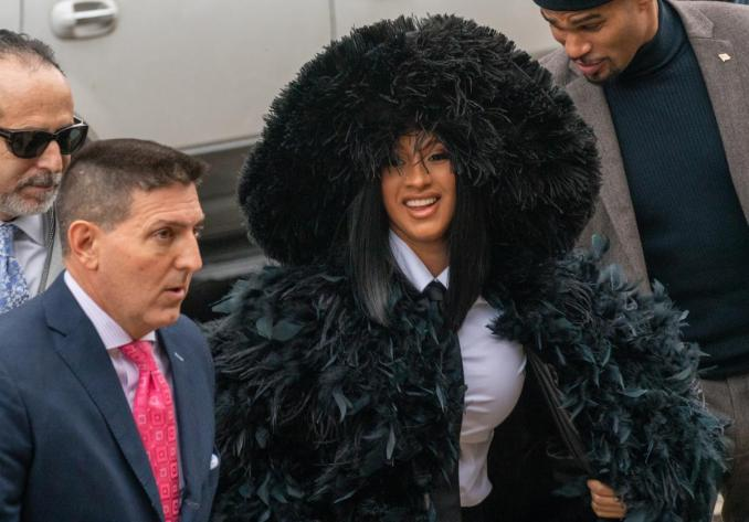 Cardi B Dragged Into Deposition In Stylist's K Lawsuit Against ...