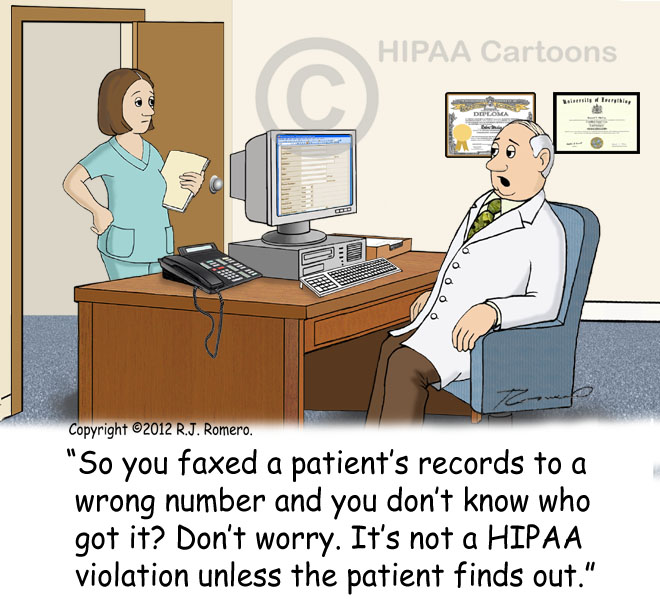 Cartoon-doctor-tells-nurse-it-is-not-HIPAA-violation-if-patient-does-not-find-out_p134