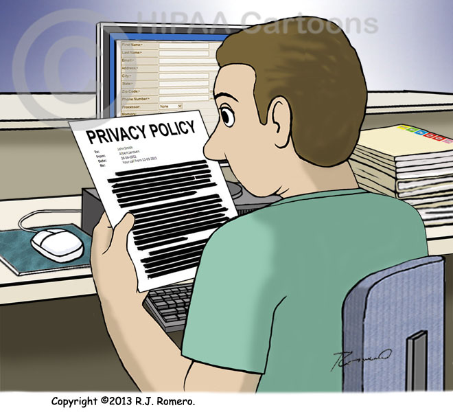 Cartoon-Nurse-looks-at-censored-memo-new-privacy-policy_p128
