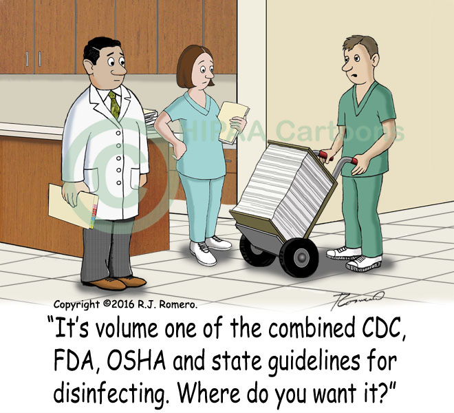 Cartoon-man-with-large-manual-guidelines-for-disinfecting_m110