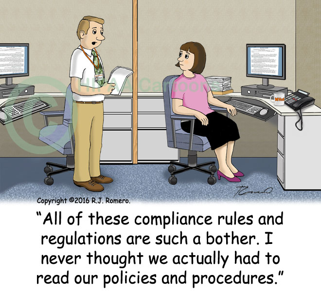 cartoon gallery of  pliance cartoons conflict of interest humor and ethics cartoons