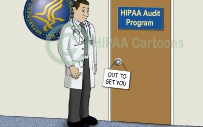 HIPAA Audit Program Cartoon