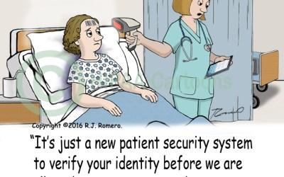 Patient Security Cartoon