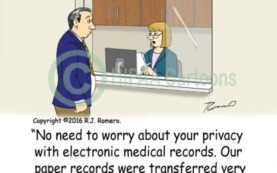 Disposing of Medical Records Cartoon
