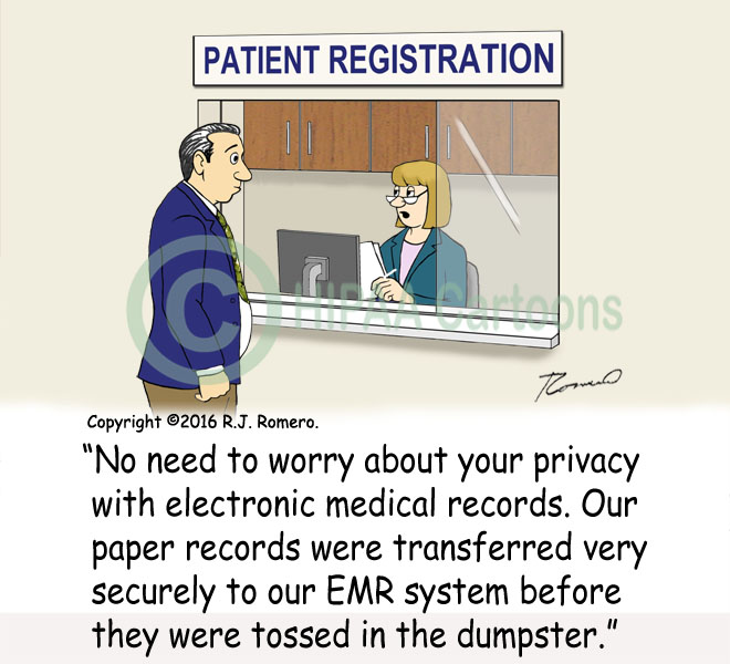 Cartoon-medical-records-transferred-to-emr-thrown-in-dumpster_emr153