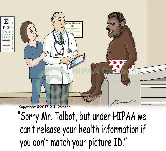 Cartoon-Doctor-tells-werewolf-HIPAA-can-not-share-PHI_p181