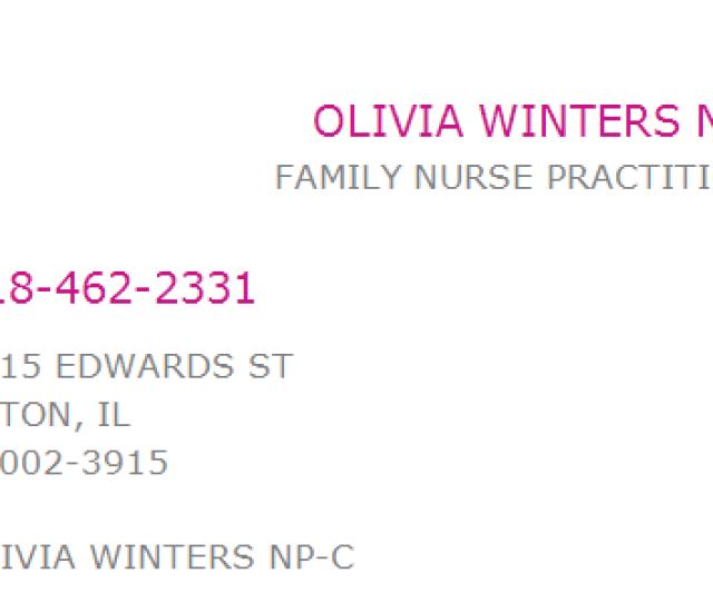 Ms Olivia Winters Np C