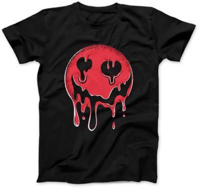 Krwista-Emotka-czarna-koszulka-damska