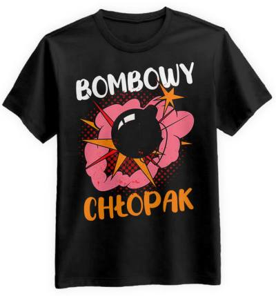 Bombowy Chłopak Czarna