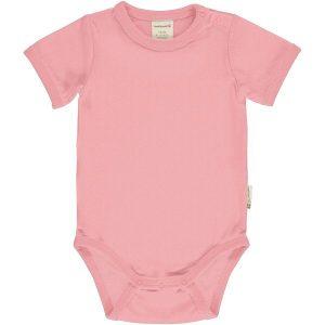 Maxomorra Baby Pants Rib Block Blossom