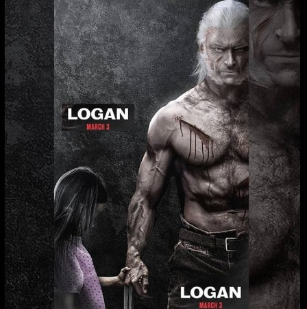 Logan Wolverine 3 Movie Poster   hipeGALAXY Logan Wolverine 3 Movie Poster