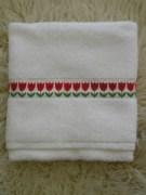handdoek-tulpen