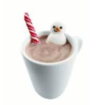 Snowy hot chocolate