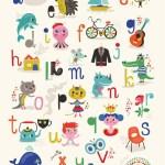 Nederlandse ABC poster
