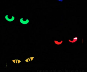 glow in the dark eyes
