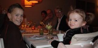 Zò houd je kinderen gezellig tijdens het kerstdiner