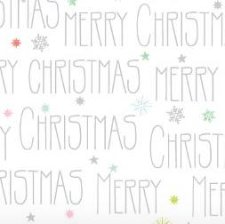merry christmas pakpapier