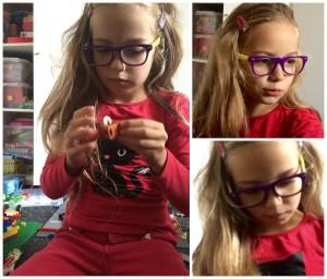 hippe nieuwe kinderbril