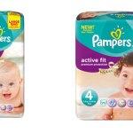 Welke mama wil Pampers Active Fit luiers testen?