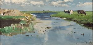 Meimaand te Noorden - Schilderij Willem Roelofs