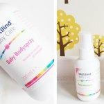 Multilind babyproducten met handige spray