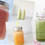 5 x zomerse smoothies èn tips om ze tof te serveren