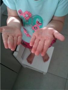 Knetterzeep schone handen
