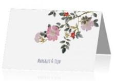 trouwkaart-rozen-origineel-stijlvol-trouwen-huwelijk-vintagekopie